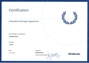 Certifications Winbooks